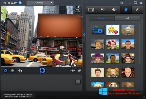 צילום מסך CyberLink YouCam Windows 8