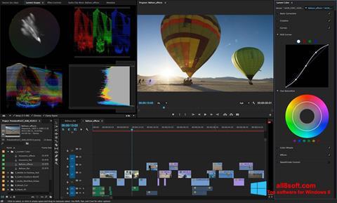 צילום מסך Adobe Premiere Pro Windows 8