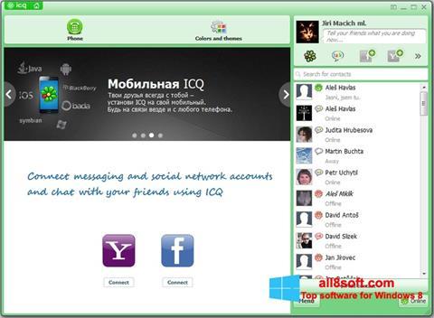 צילום מסך ICQ Windows 8
