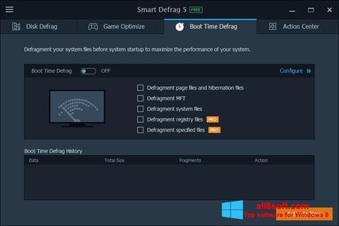צילום מסך Smart Defrag Windows 8