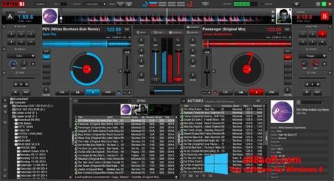 צילום מסך Virtual DJ Windows 8