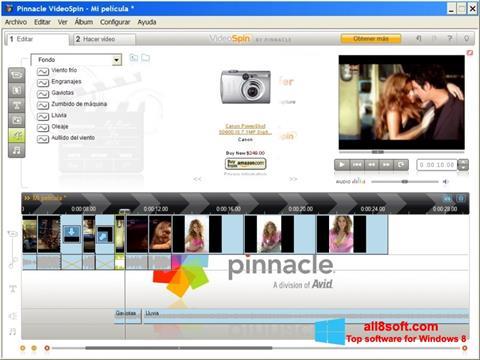 צילום מסך Pinnacle VideoSpin Windows 8