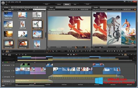 צילום מסך Pinnacle Studio Windows 8
