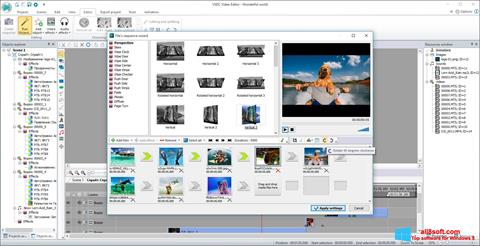 צילום מסך Free Video Editor Windows 8