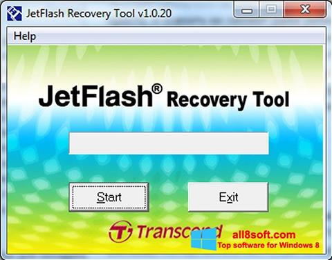 צילום מסך JetFlash Recovery Tool Windows 8