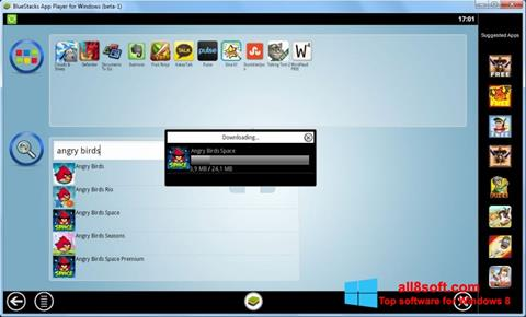 צילום מסך BlueStacks Windows 8