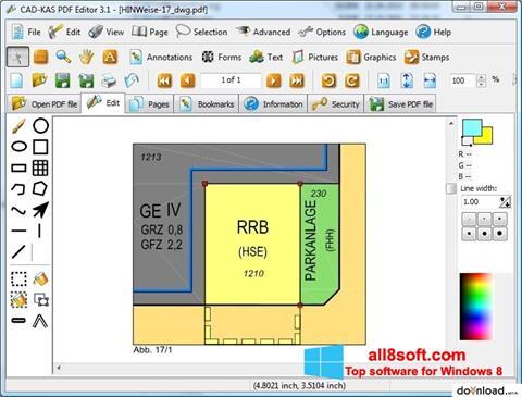 צילום מסך PDF Reader Windows 8